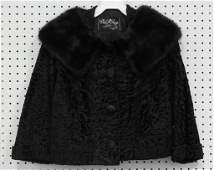 Vintage sheared Persian lamb jacket