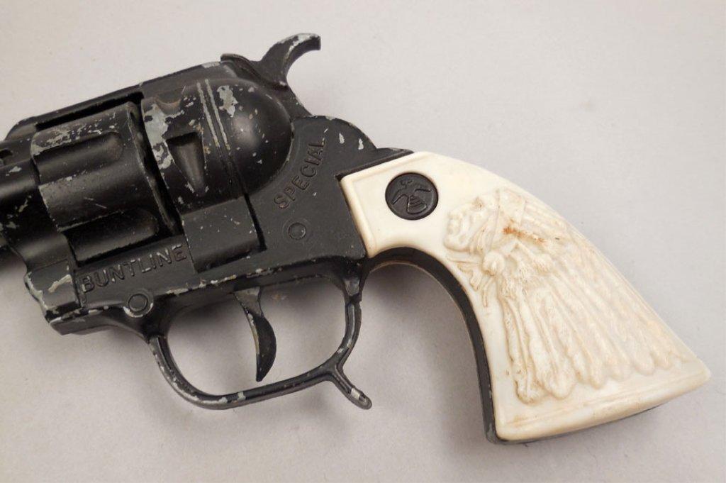 BCM Buntline Special Wyatt Earp toy cap gun - 2