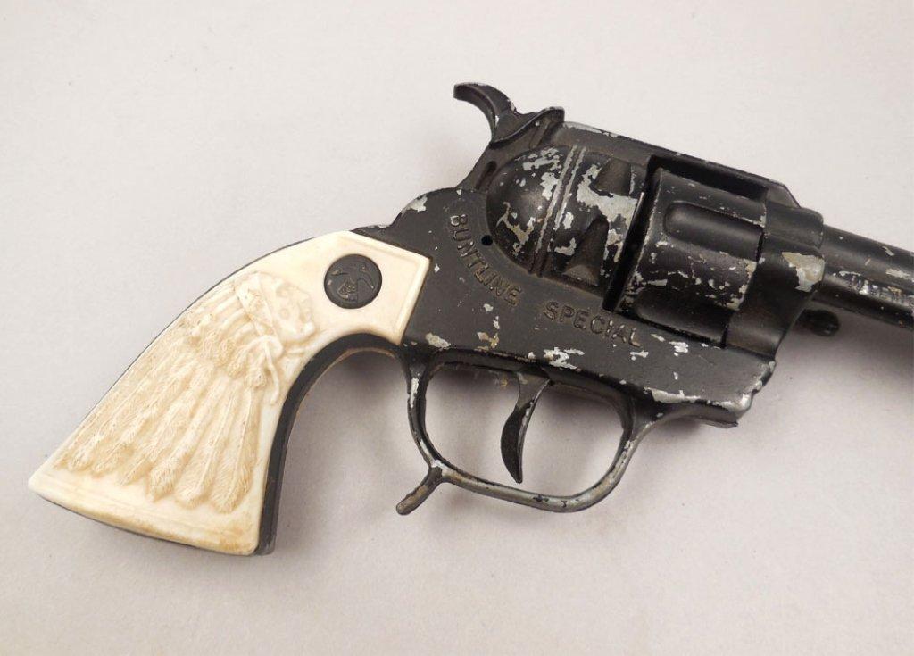BCM Buntline Special Wyatt Earp toy cap gun - 4