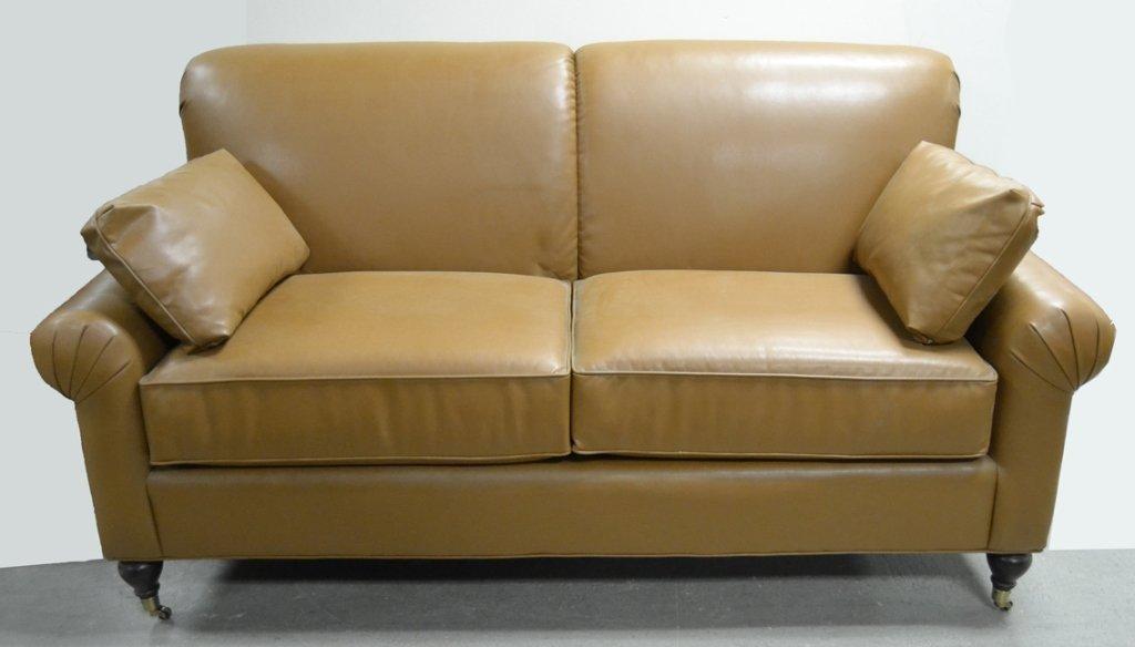 Pennsylvania House Leather Sofa