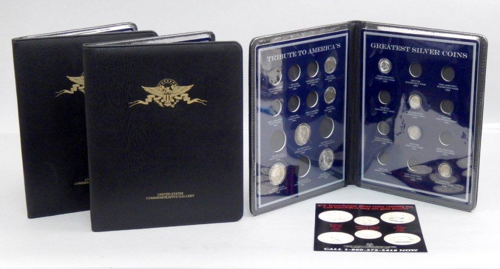U.S. Commemorative Gallery Silver Coin sets