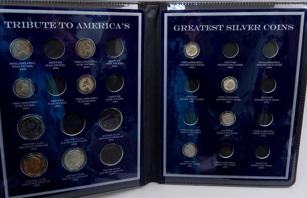 U.S. Commemorative Gallery Silver Coin sets - 3