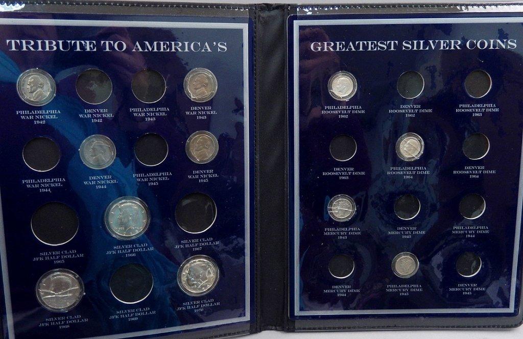 U.S. Commemorative Gallery Silver Coin sets - 4