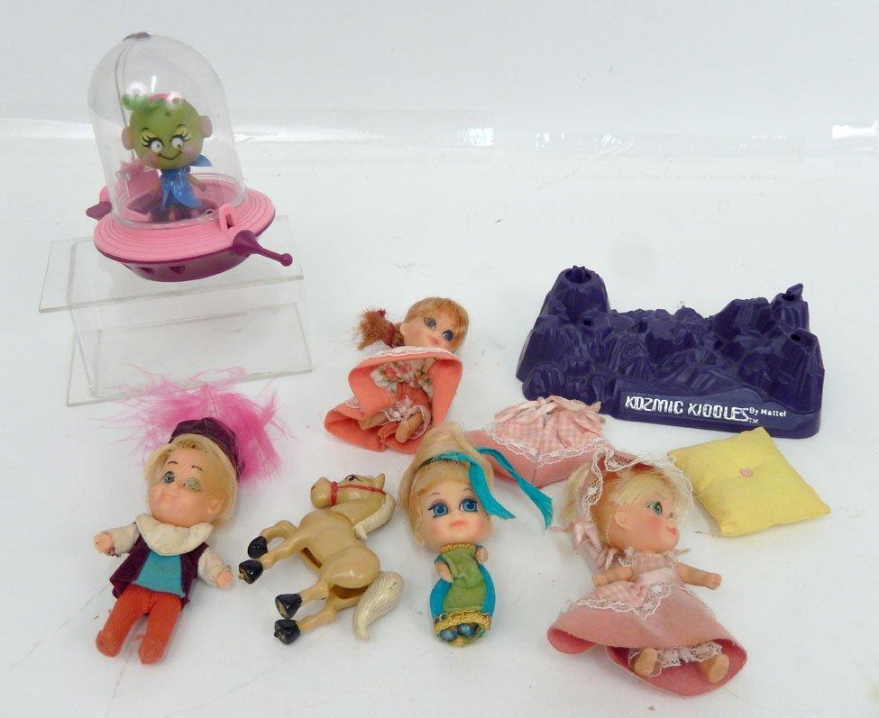 1960's Kiddles dolls by Mattel