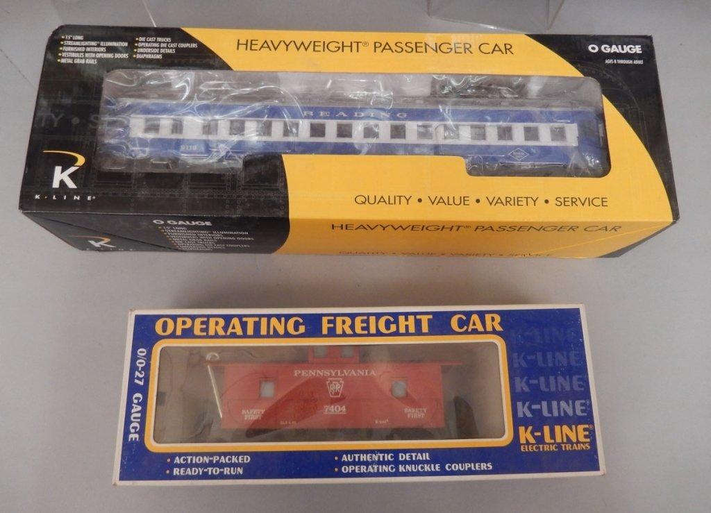 Nine K-Line Electric trains in original boxes - 2