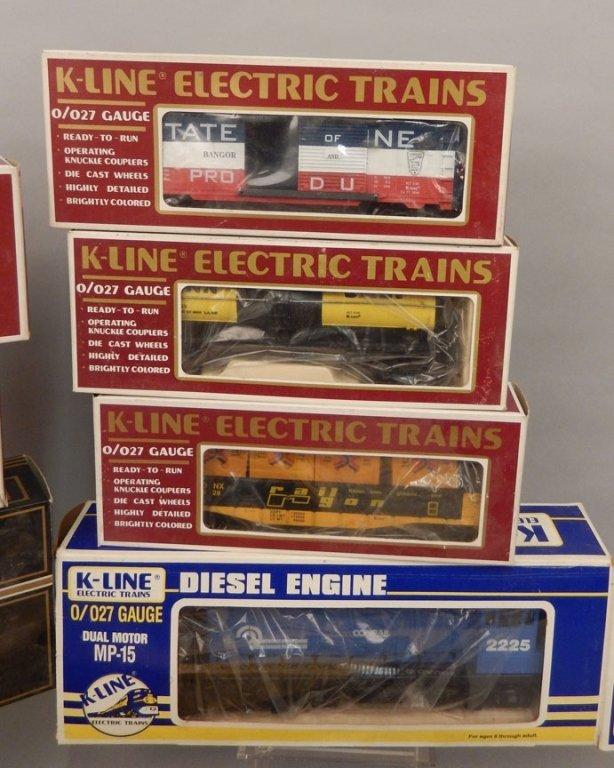 Nine K-Line Electric trains in original boxes - 3