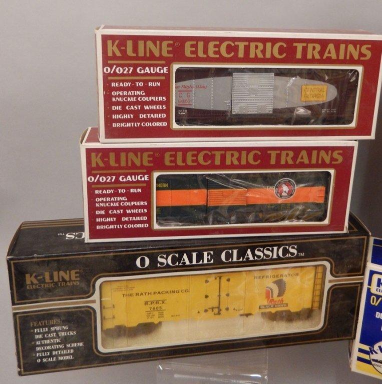 Nine K-Line Electric trains in original boxes - 4