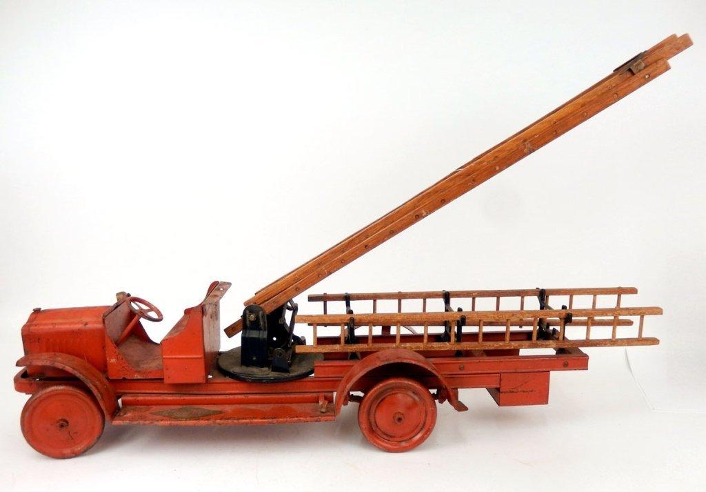 Kelmet Corp. Big Boy fire ladder truck