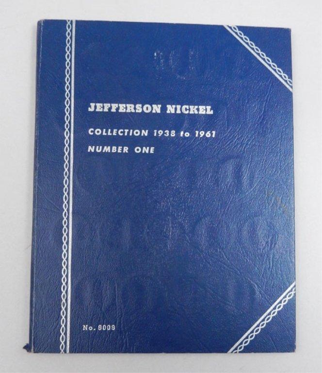 Jefferson Nickel Book, 1938-1961