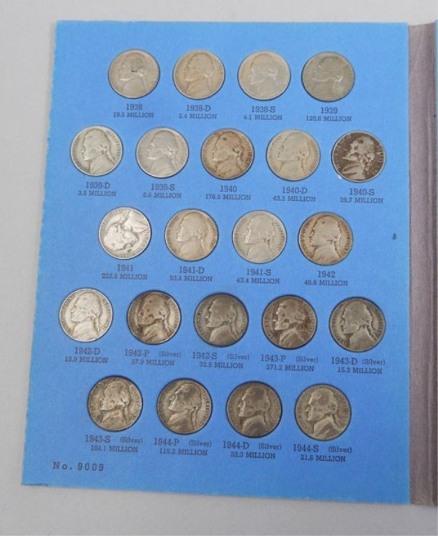 Jefferson Nickel Book, 1938-1961 - 3