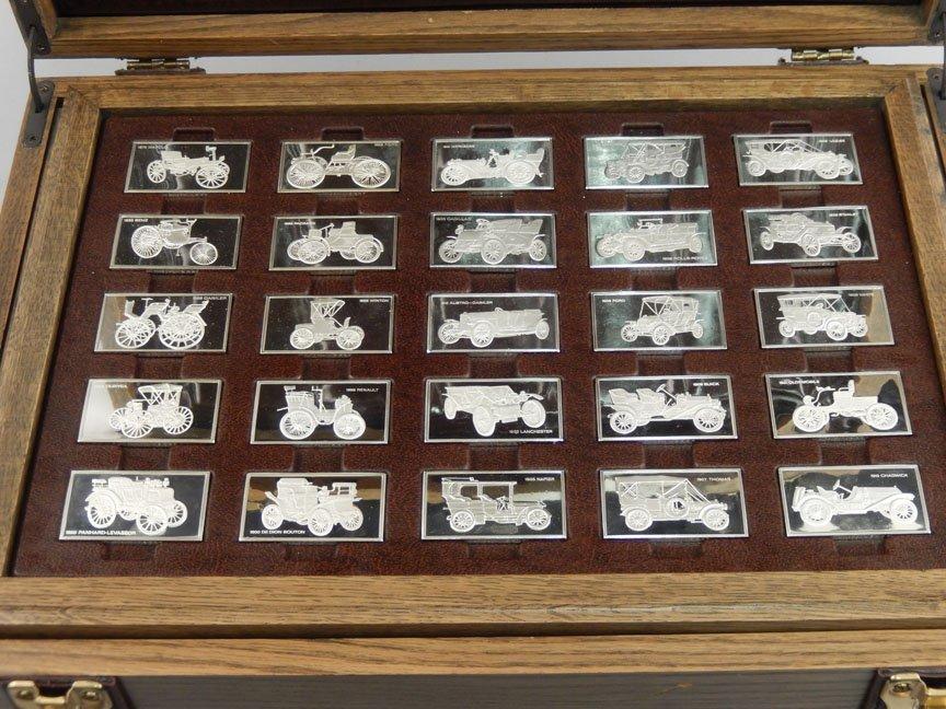 1973 Franklin Mint Centennial Car Ingot Collection - 4