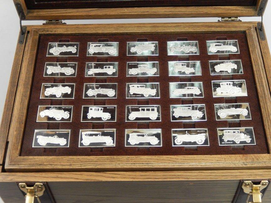 1973 Franklin Mint Centennial Car Ingot Collection - 5