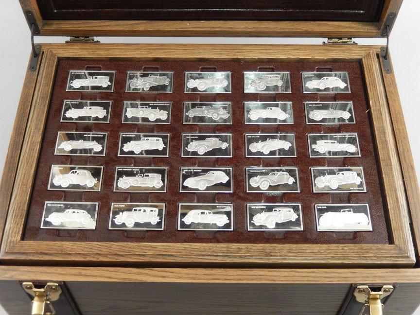 1973 Franklin Mint Centennial Car Ingot Collection - 6
