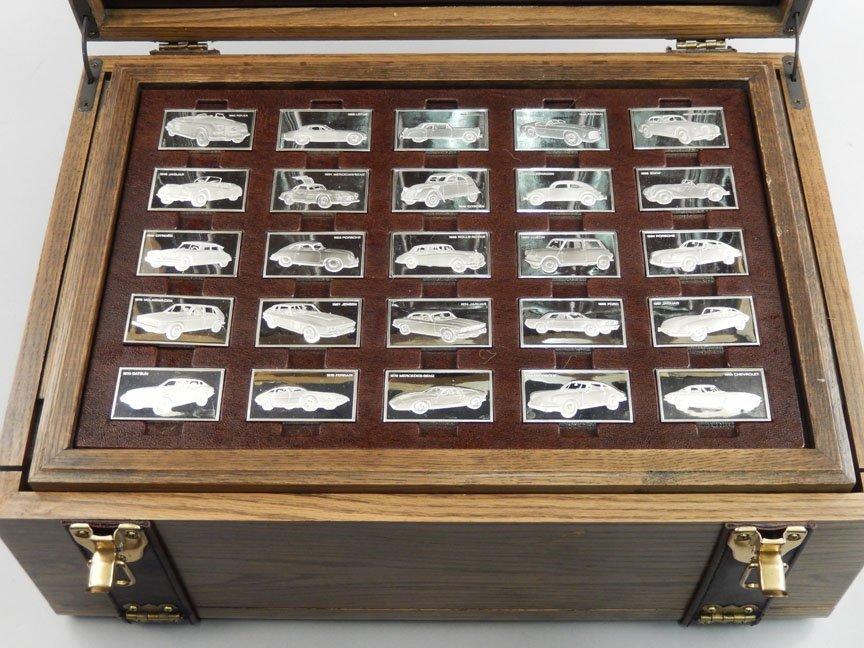 1973 Franklin Mint Centennial Car Ingot Collection - 7
