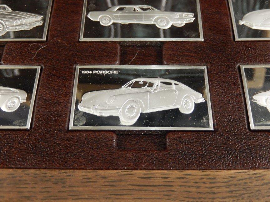 1973 Franklin Mint Centennial Car Ingot Collection - 8