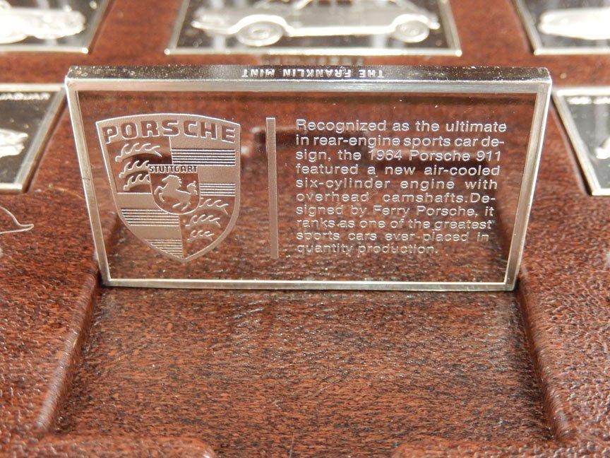 1973 Franklin Mint Centennial Car Ingot Collection - 9