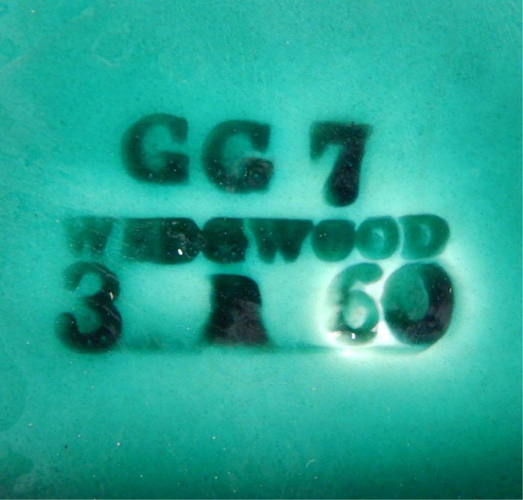 Twelve Wedgwood Majolica green leaf plates - 5