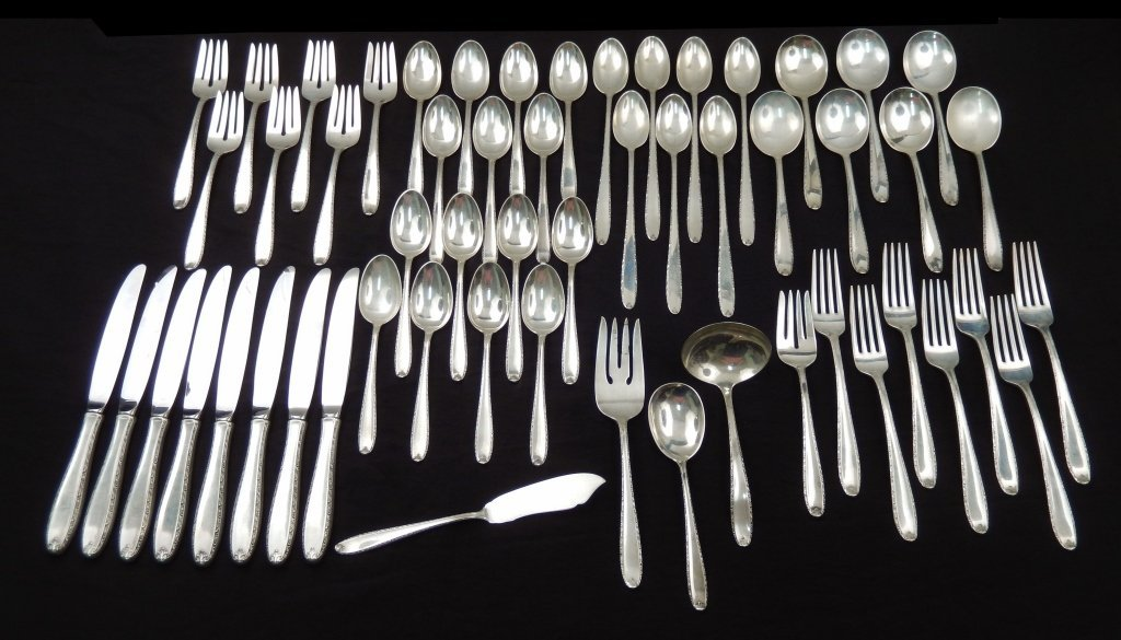 Richmond by Alvin Sterling Silver Serving Spoon 8 38