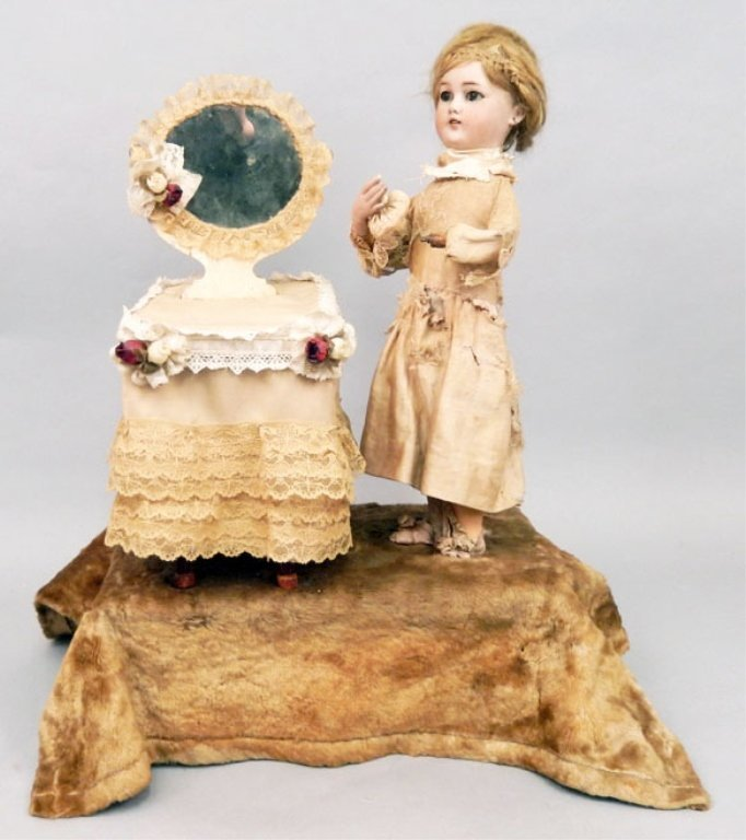 Lambert automaton with bisque doll by Simon & Halbig
