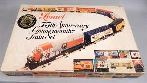 Lionel 75th Anniversary Train set sealed in original bo