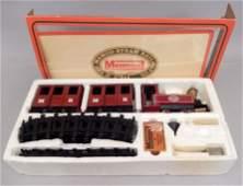 The Mamod Steam Railway Company train set in original