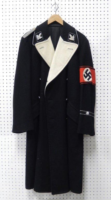 WWII German Nazi SS wool long coat