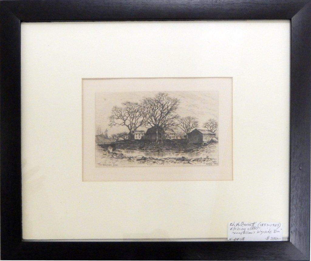 E. (Edmund) H. (Henry) G. (Garrett) etching on paper