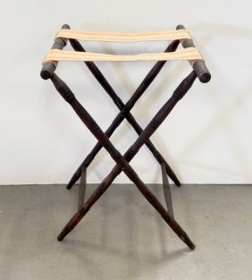 Oak Folding Stand