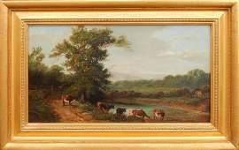 British School oil on canvas