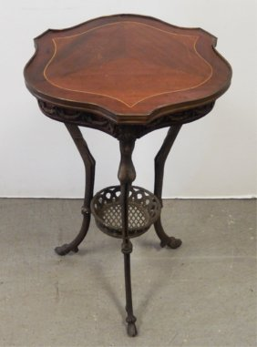 French Inlaid Stand