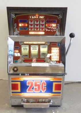 Bally 25 Cent Slot Machine