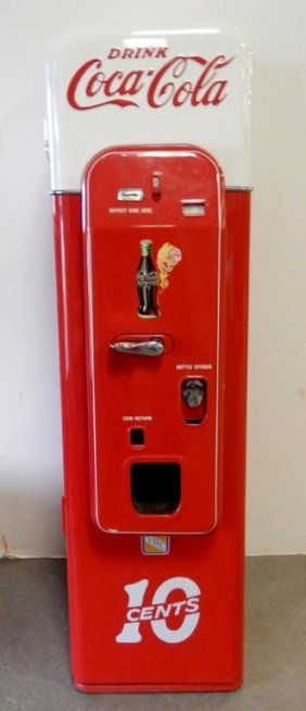 Coca-cola 10 Cent Vending Machine Vendo 44