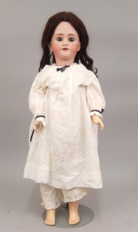 Heinrich Handwerck Simon & Halbig Bisque Head Doll