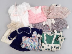Grouping Of Doll Clothes
