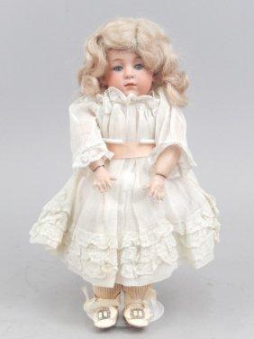 Gebruder Heubach Pouty 6970 Bisque Head Doll