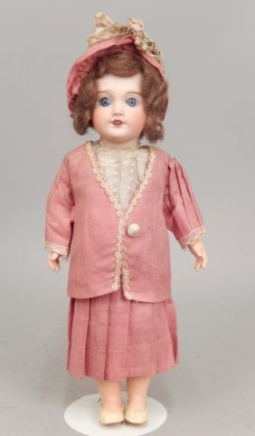 Sfbj 301 French Bisque Head Doll