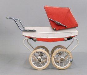 Doucet French Miniature Doll Carriage