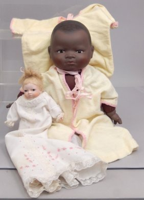Two Bisque Head Dolls