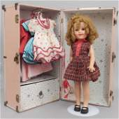 Ideal Shirley Temple doll with wardrobe