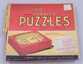 Gilbert Problem Puzzles In Box