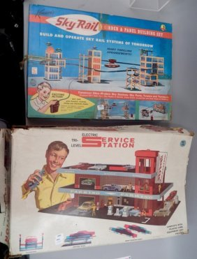 Superior Electric Service Station In Box And Kenner's