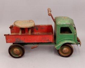 Keystone Ride 'em Dump Truck Pressed Steel