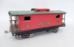 Lionel Prewar Standard Gauge No. 217 Caboose