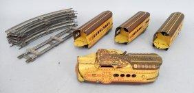 Marx #m10005 Union Pacific Windup Train Set