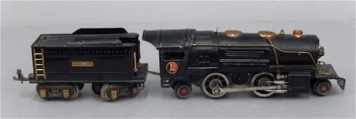 Lionel prewar O gauge No 259E loco and tender