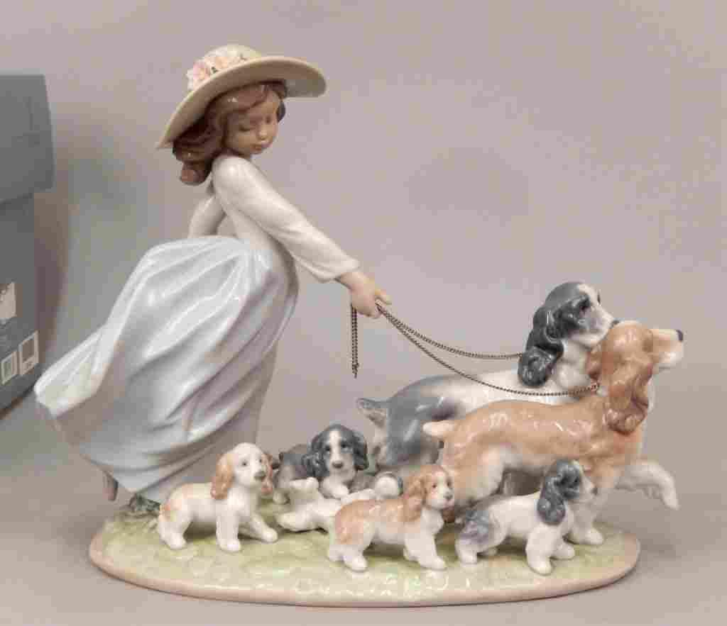 Lladro Puppy Parade No. 6784 in original box