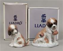 Two Lladro porcelain figurines in original boxes