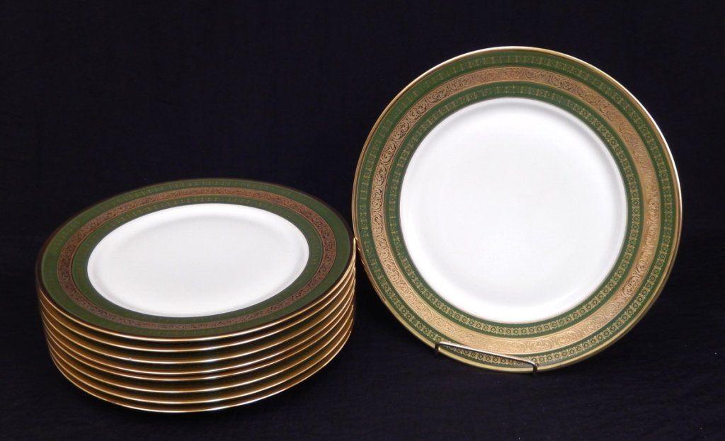 Nine Superieur Limoges France dinner plates