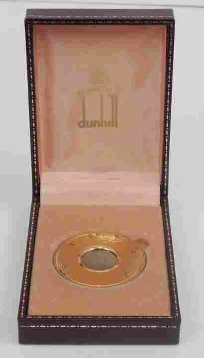 Dunhill gold plated cigar cutter