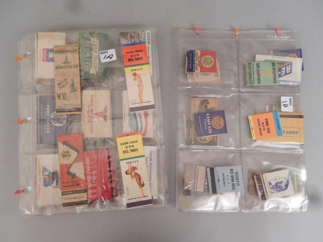 Lot of Mid 20th C. matchbooks